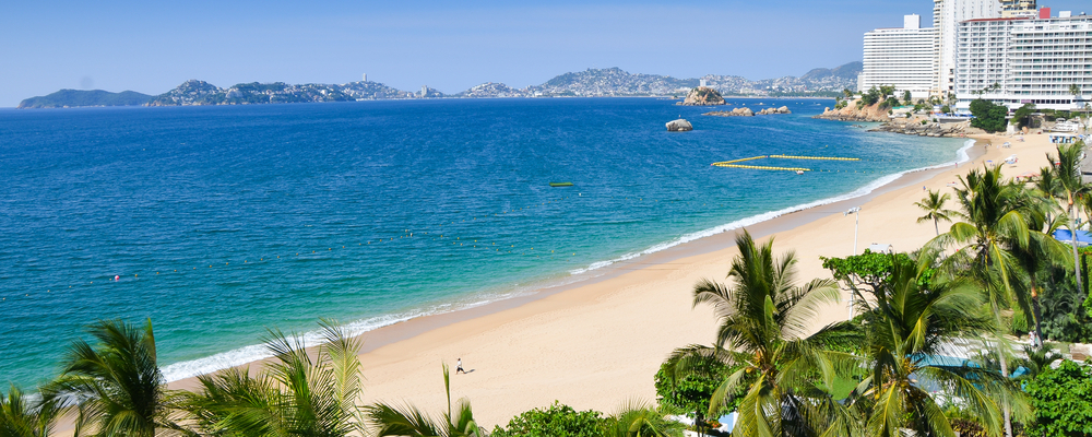 Mexico's Acapulco Beach