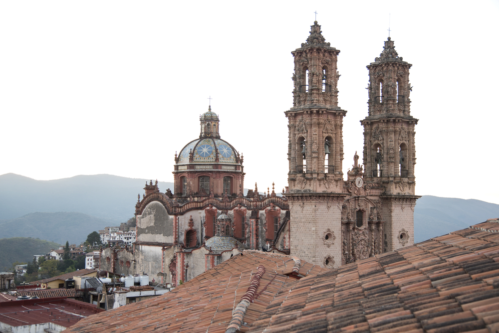 Cathedral of Santa Prisca in Taxco