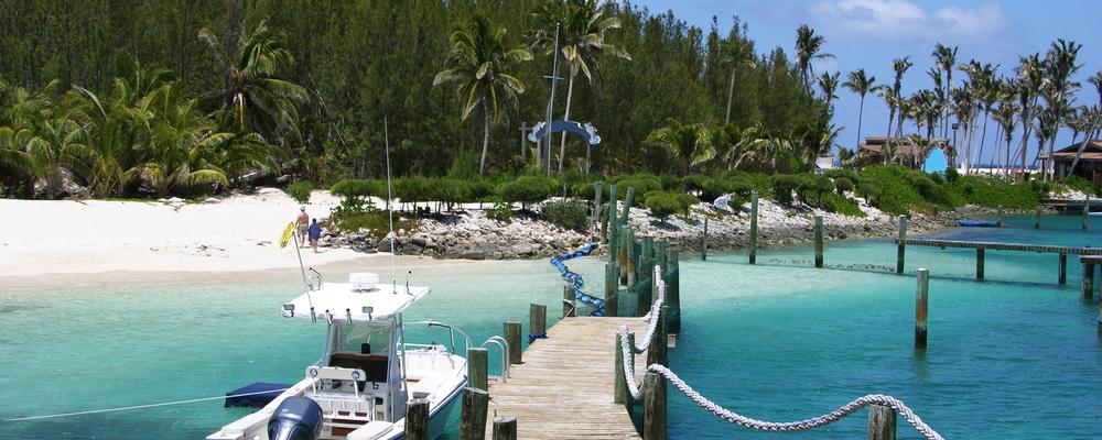 Blue Lagoon Island dock