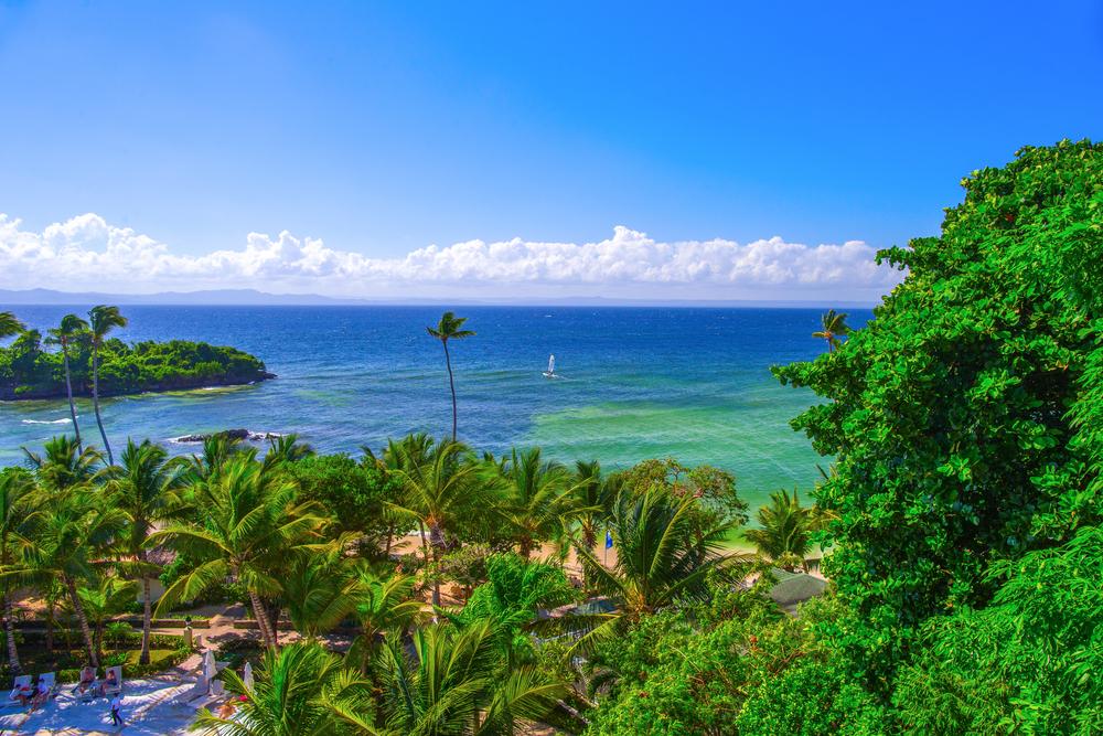 The Dominican Republic. Cayo Levantado Island