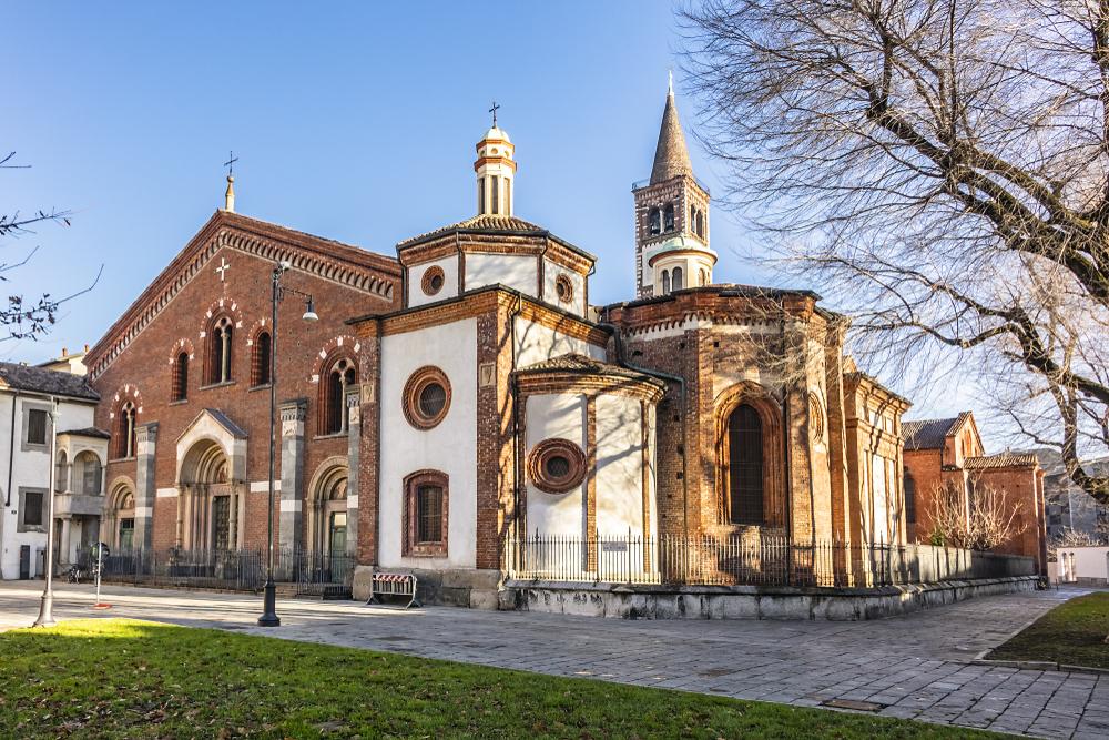 Milan Basilica of Saint Eustorgius (Basilica of Sant