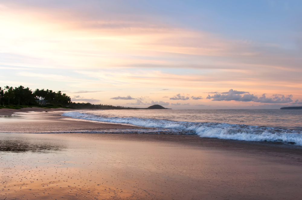 Located in Kihei, Keawakapu Beach is one of the longest and most popular beaches in Maui Hawaii