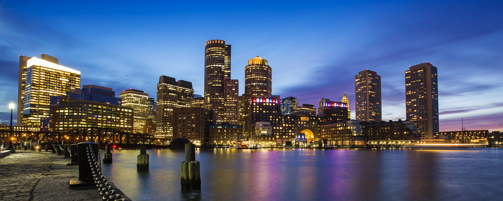 Skyline of Boston, Massachusetts