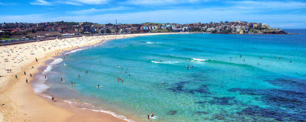 Bondi Beach, Australia is a true beach neighborhood gem