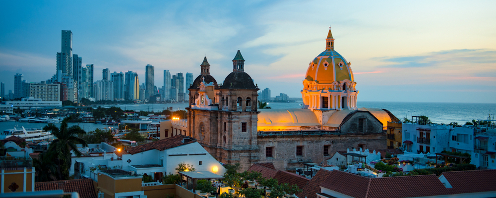 Cartagena, Colombia has food, history and culture.