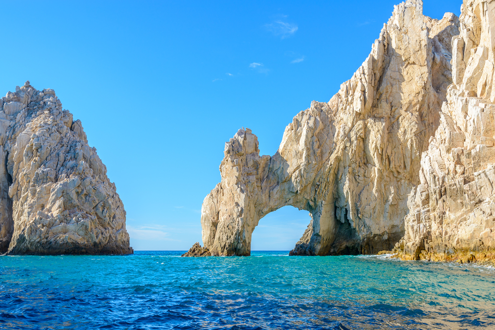 The arch point (El Arco) at Cabo San Lucas, Mexico.