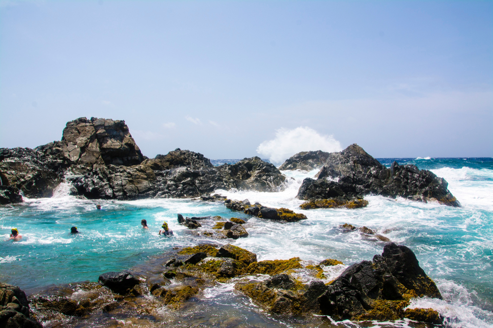 Natural Pool Santa Cruz Aruba