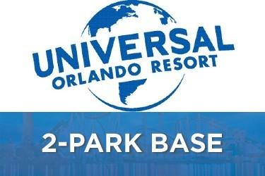 Universal Studios Florida 2-Park Base Tickets